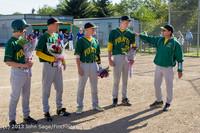 8533 Baseball v Life-Chr Seniors Night 050113