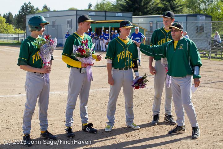8537 Baseball v Life-Chr Seniors Night 050113