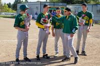 8544 Baseball v Life-Chr Seniors Night 050113