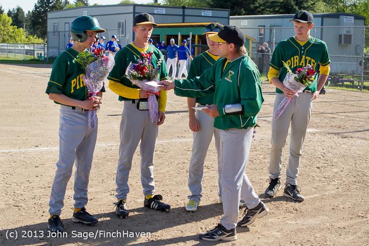 8560 Baseball v Life-Chr Seniors Night 050113