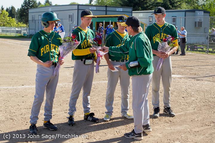 8570 Baseball v Life-Chr Seniors Night 050113