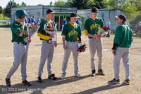 8581 Baseball v Life-Chr Seniors Night 050113