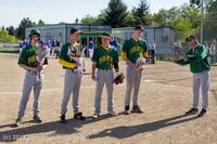 8586 Baseball v Life-Chr Seniors Night 050113