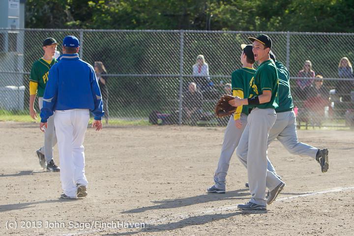 9215 Baseball v Life-Chr Seniors Night 050113