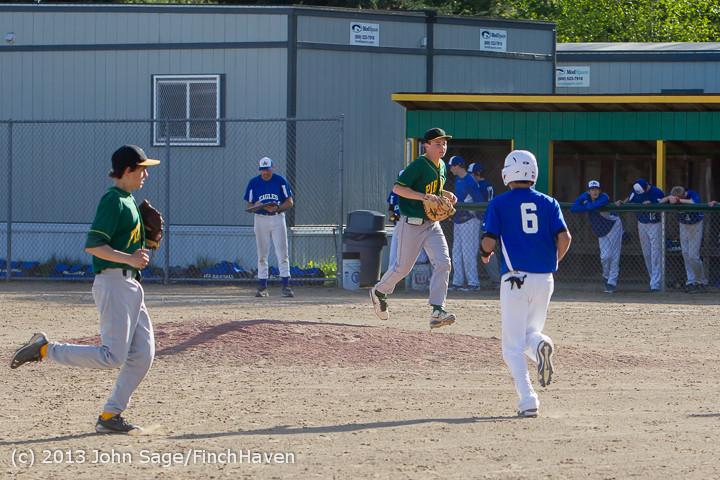 9217 Baseball v Life-Chr Seniors Night 050113