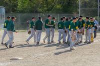 9246 Baseball v Life-Chr Seniors Night 050113