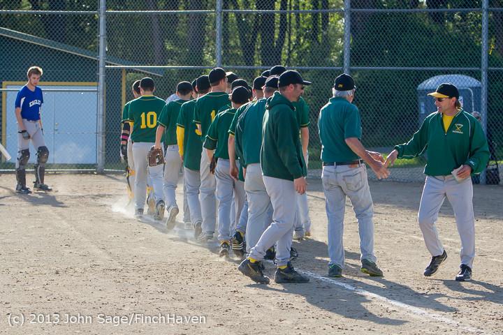 9268 Baseball v Life-Chr Seniors Night 050113