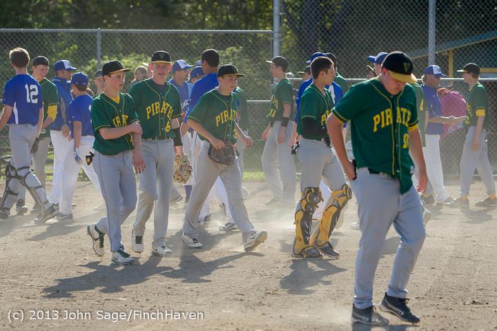 9314 Baseball v Life-Chr Seniors Night 050113