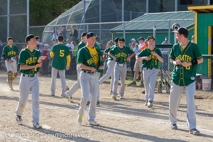 9355 Baseball v Life-Chr Seniors Night 050113