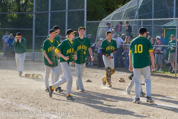 9360 Baseball v Life-Chr Seniors Night 050113