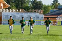 9374 Baseball v Life-Chr Seniors Night 050113