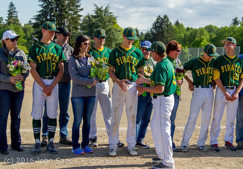18029 VIHS Baseball Seniors Night 2016 042916