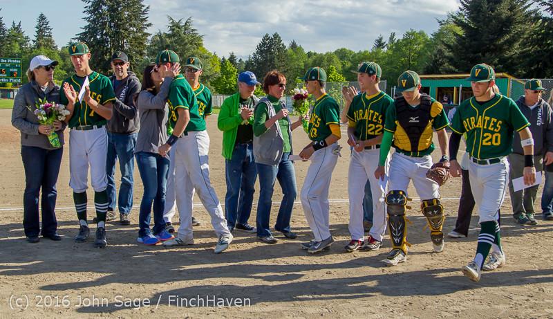 18136 VIHS Baseball Seniors Night 2016 042916