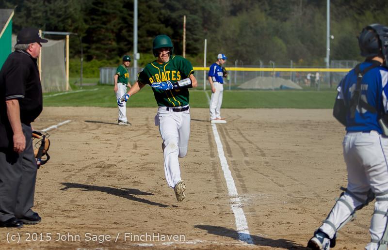 2543 Baseball v Belle-Chr 040215