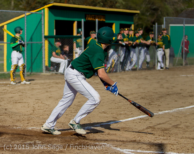 2895 Baseball v Belle-Chr 040215