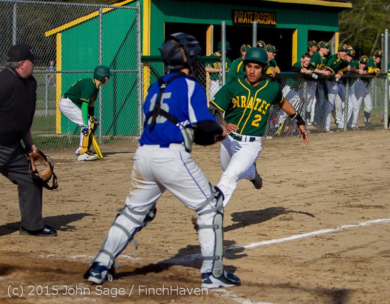 2911 Baseball v Belle-Chr 040215