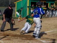 2914 Baseball v Belle-Chr 040215