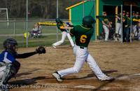 3331 Baseball v Belle-Chr 040215