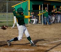 3744 Baseball v Belle-Chr 040215