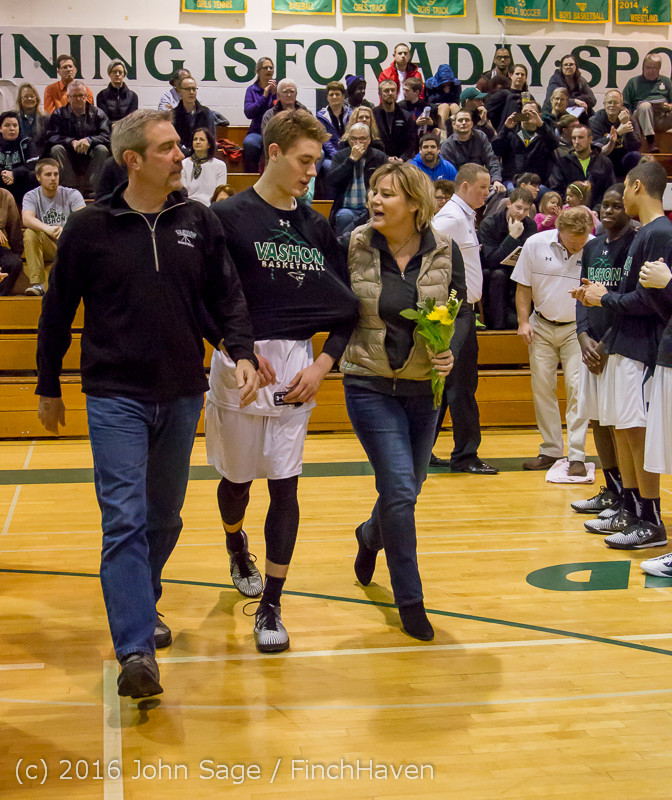 18603 VIHS Boys Basketball Seniors Night 2016 020516