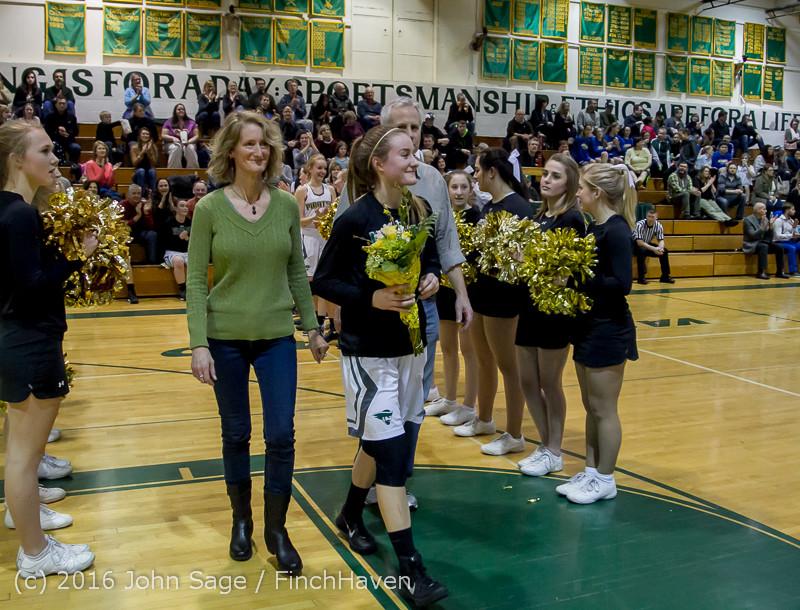 20682 VIHS Girls Basketball Seniors Night 2016 020516