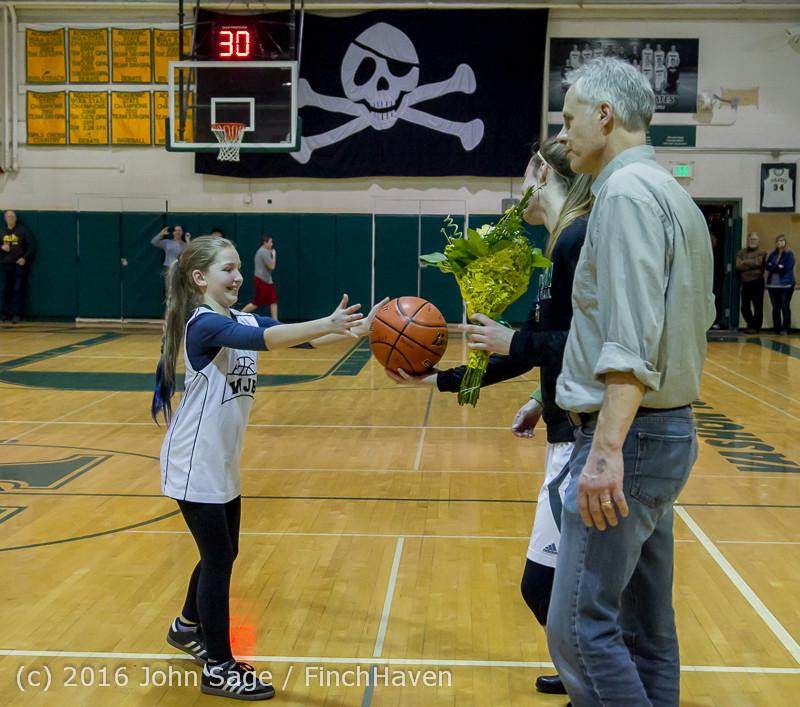20685 VIHS Girls Basketball Seniors Night 2016 020516