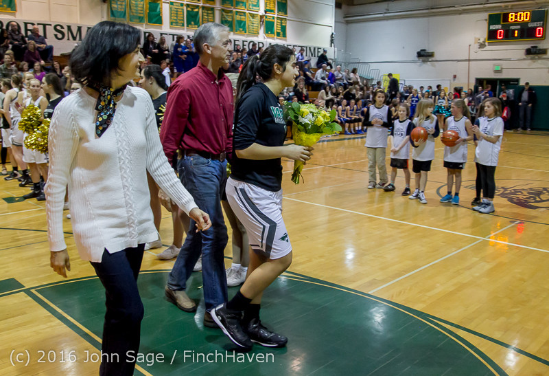 20823 VIHS Girls Basketball Seniors Night 2016 020516