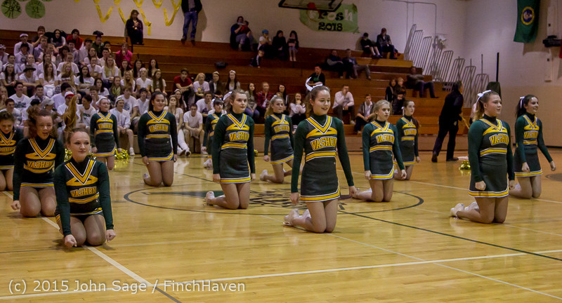 16272 VIHS Winter Cheer at Halftime BBall v Sea-Chr 010915