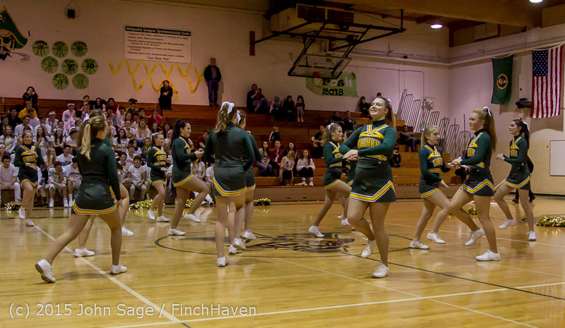 16317 VIHS Winter Cheer at Halftime BBall v Sea-Chr 010915