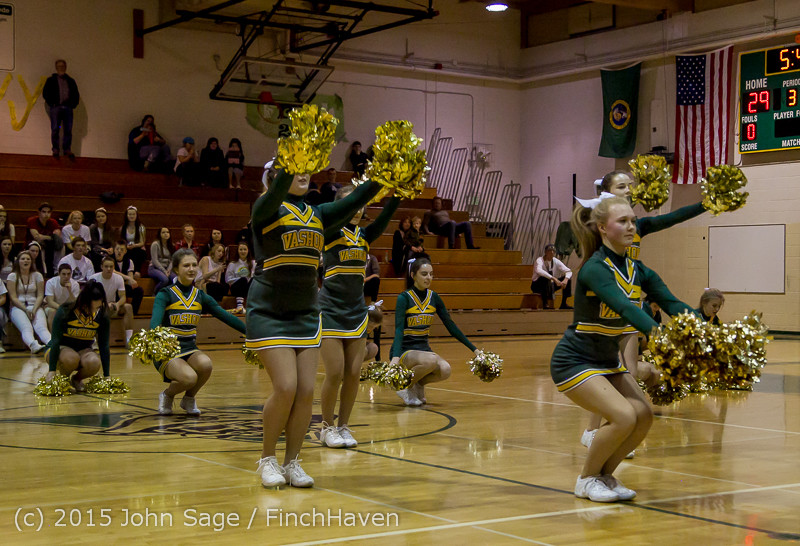 16457 VIHS Winter Cheer at Halftime BBall v Sea-Chr 010915
