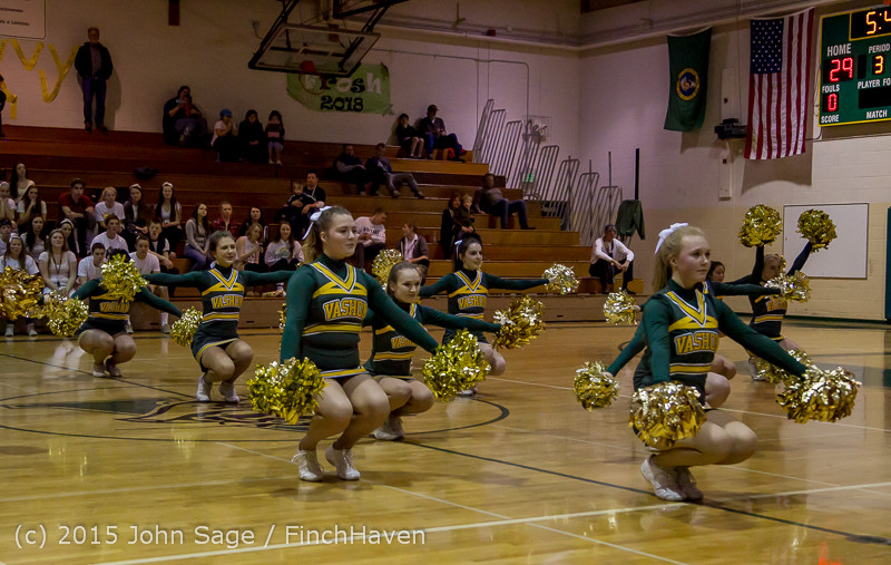 16460 VIHS Winter Cheer at Halftime BBall v Sea-Chr 010915