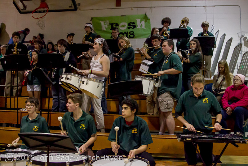 17939 White Out and VIHS Band at BBall v Sea-Chr 010915