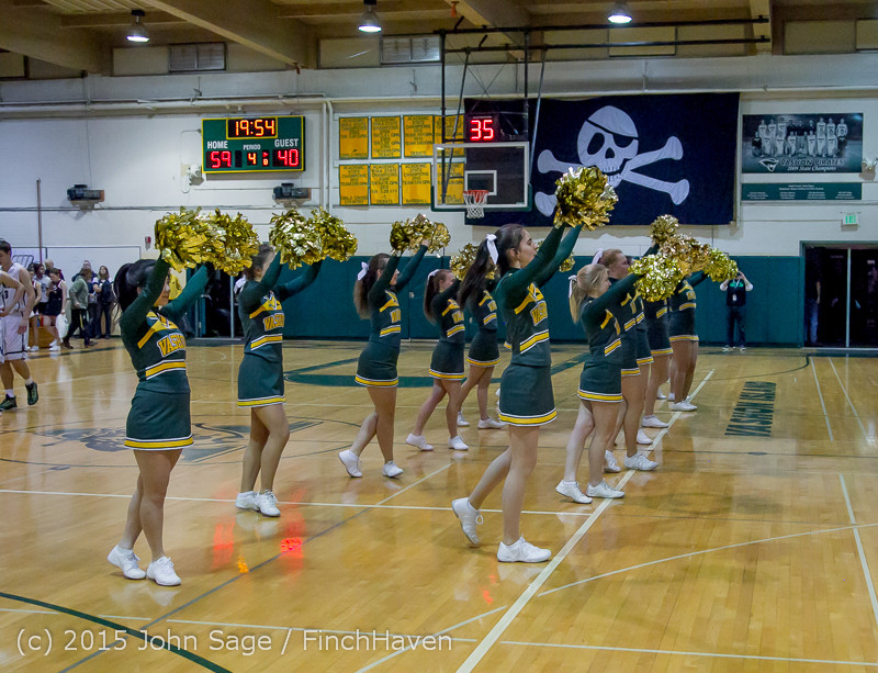 18046 White Out and VIHS Band at BBall v Sea-Chr 010915