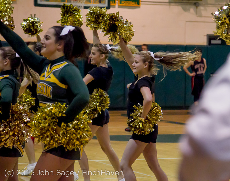 20760 VIHS Cheer-Band-Crowd at BBall v Seattle-Academy 121614