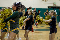 20764 VIHS Cheer-Band-Crowd at BBall v Seattle-Academy 121614