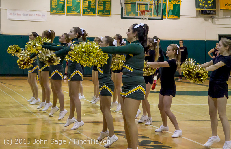 20769 VIHS Cheer-Band-Crowd at BBall v Seattle-Academy 121614