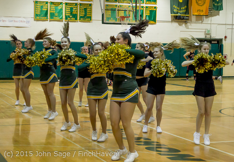 20773 VIHS Cheer-Band-Crowd at BBall v Seattle-Academy 121614