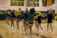 20776 VIHS Cheer-Band-Crowd at BBall v Seattle-Academy 121614