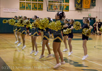 20782 VIHS Cheer-Band-Crowd at BBall v Seattle-Academy 121614