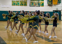 20791 VIHS Cheer-Band-Crowd at BBall v Seattle-Academy 121614