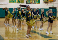 20797 VIHS Cheer-Band-Crowd at BBall v Seattle-Academy 121614