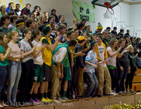 21499 VIHS Cheer-Band-Crowd at BBall v Seattle-Academy 121614