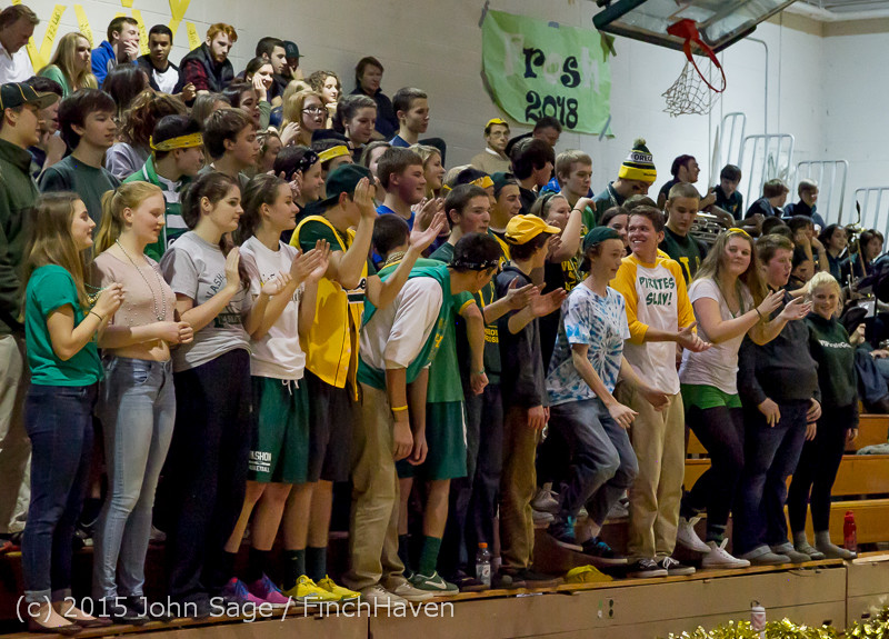 21503 VIHS Cheer-Band-Crowd at BBall v Seattle-Academy 121614