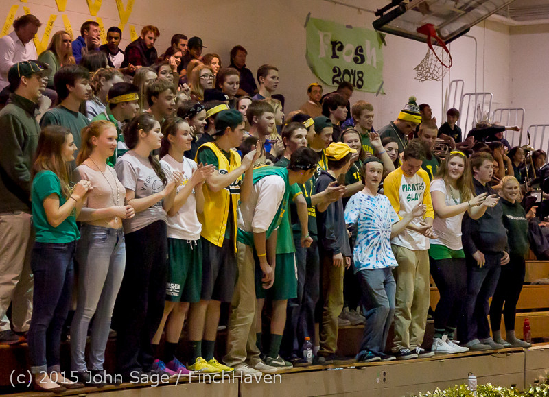 21505 VIHS Cheer-Band-Crowd at BBall v Seattle-Academy 121614