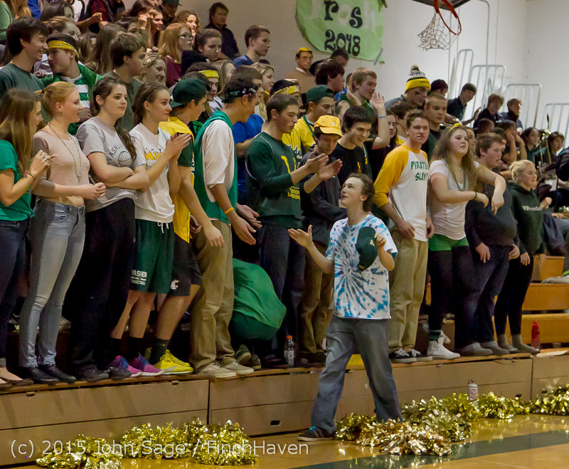 21527 VIHS Cheer-Band-Crowd at BBall v Seattle-Academy 121614