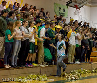 21530 VIHS Cheer-Band-Crowd at BBall v Seattle-Academy 121614
