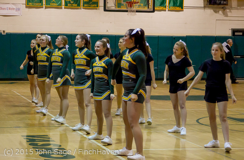 21867 VIHS Cheer-Band-Crowd at BBall v Seattle-Academy 121614