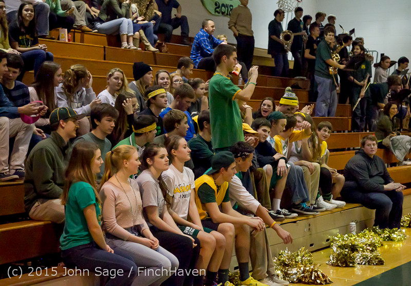21875 VIHS Cheer-Band-Crowd at BBall v Seattle-Academy 121614