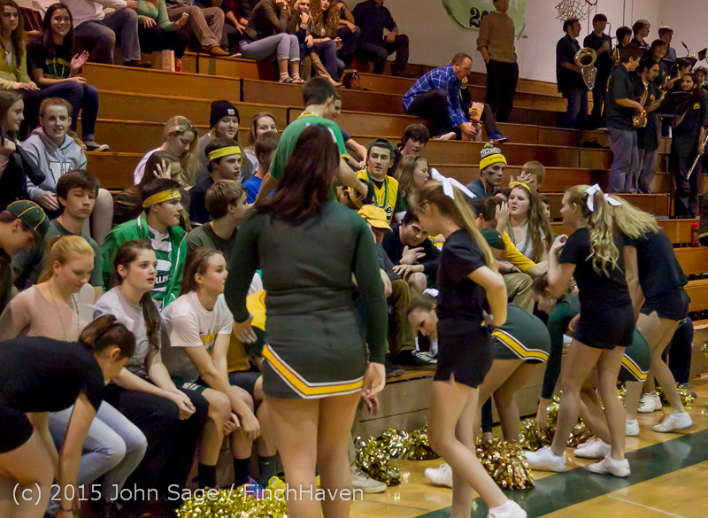 21887 VIHS Cheer-Band-Crowd at BBall v Seattle-Academy 121614