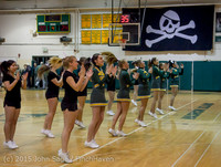 22734 VIHS Cheer-Band-Crowd at BBall v Seattle-Academy 121614